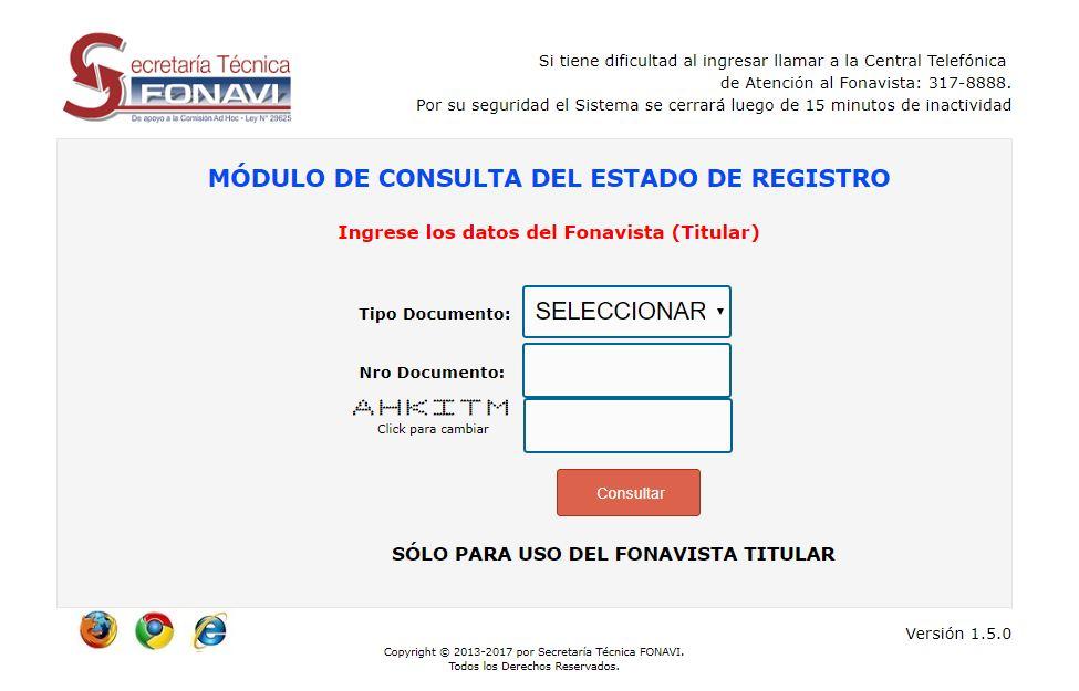 consulta registro