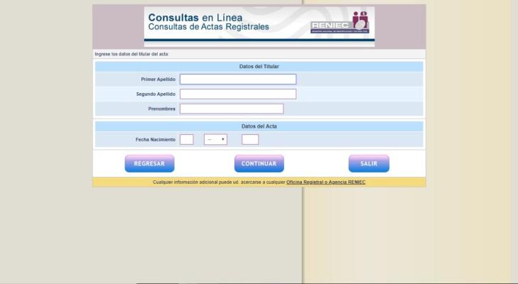 consultas en linea