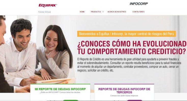 infocorp web oficial