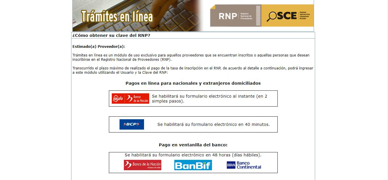 inscripcion en rnp