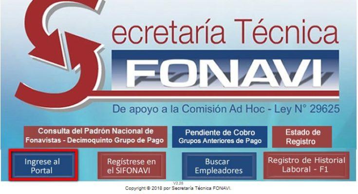 web oficial secretaria tecnica fonavi